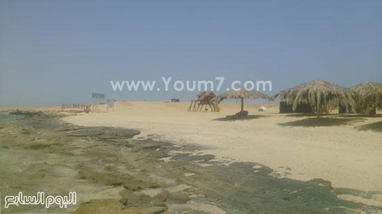 جزيرة الجفتون قطعة من الجنة على أرض البحر الأحمر -اليوم السابع -7 -2015