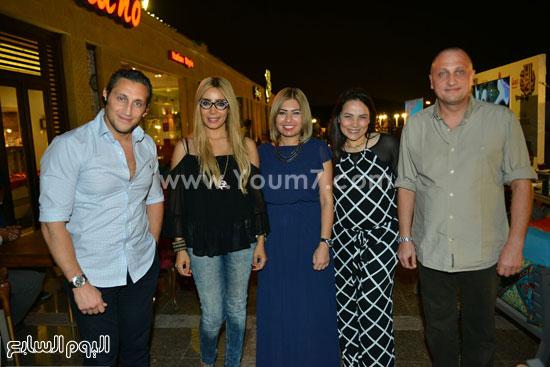 رواد مطعم باب الخلق  -اليوم السابع -7 -2015