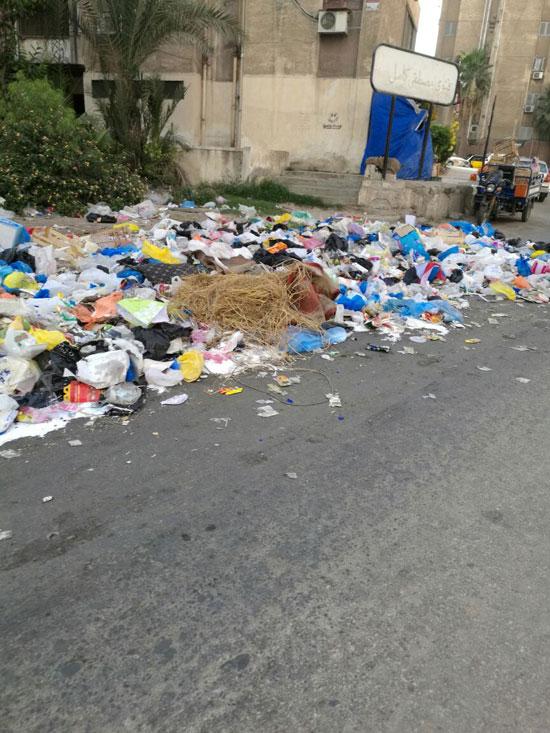 تفاقم-أزمة-تراكم-القمامة-بمنطقة-مصطفى-كامل-(1)