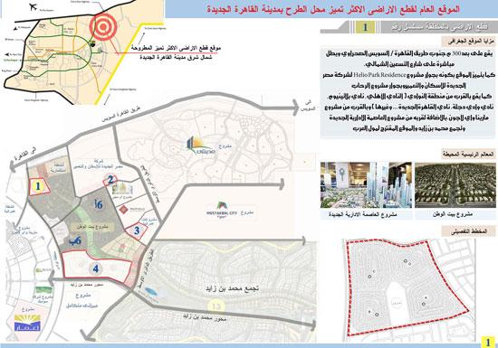 الخرائط.، أراضى القرعة التكميلية،الإسكان، القاهرة الجديدة (1)