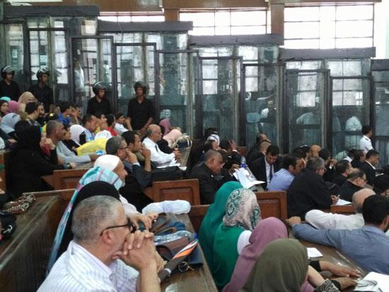 محاكمة المتهمين فى قضية اغتيال النائب العام السابق (1)