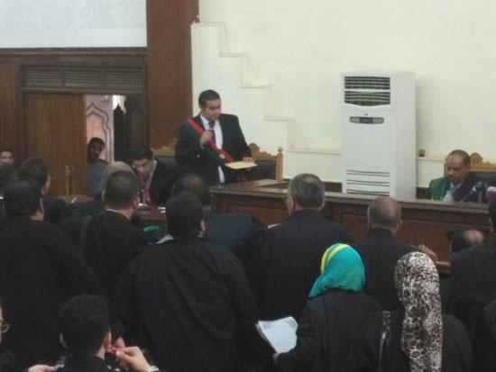 محاكمة المتهمين فى قضية اغتيال النائب العام السابق (3)