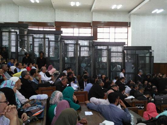 محاكمة المتهمين فى قضية اغتيال النائب العام السابق (5)