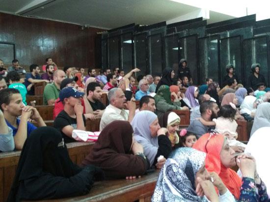 محاكمة المتهمين فى قضية اغتيال النائب العام السابق (7)