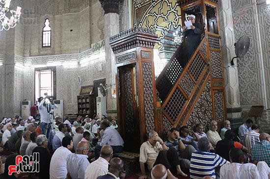 كلمة وكيل وزارة الأوقاف عبد الناصر نسيم من منبر مسجد أبو العباس عن الخطبة المكتوبة و تفعيلها من اليوم (2)