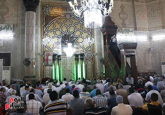 كلمة وكيل وزارة الأوقاف عبد الناصر نسيم من منبر مسجد أبو العباس عن الخطبة المكتوبة و تفعيلها من اليوم (10)