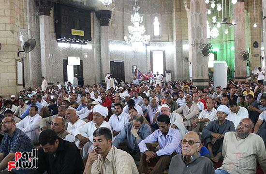 كلمة وكيل وزارة الأوقاف عبد الناصر نسيم من منبر مسجد أبو العباس عن الخطبة المكتوبة و تفعيلها من اليوم (7)