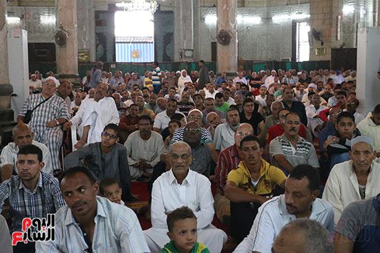 كلمة وكيل وزارة الأوقاف عبد الناصر نسيم من منبر مسجد أبو العباس عن الخطبة المكتوبة و تفعيلها من اليوم (8)