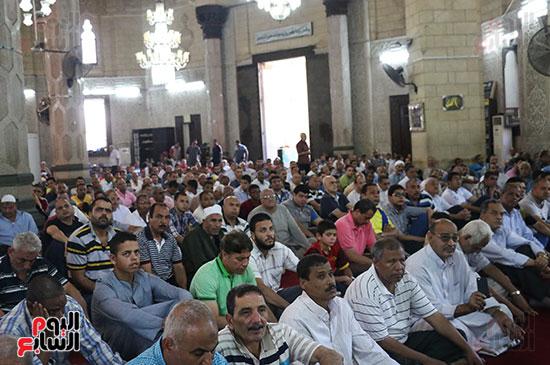 كلمة وكيل وزارة الأوقاف عبد الناصر نسيم من منبر مسجد أبو العباس عن الخطبة المكتوبة و تفعيلها من اليوم (9)