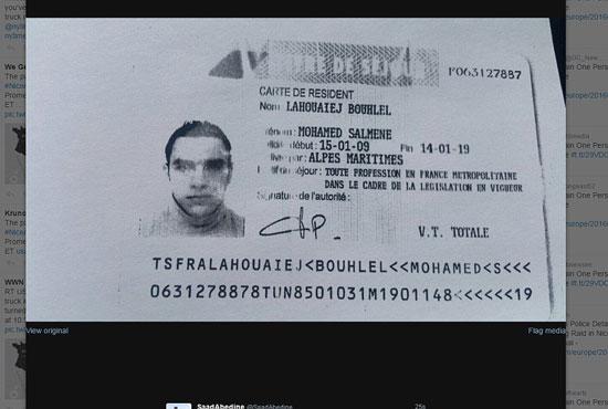 محمد بوهلال منفذ هجوم مدينة نيس الفرنسية (1)