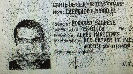 محمد بوهلال منفذ هجوم مدينة نيس الفرنسية (3)
