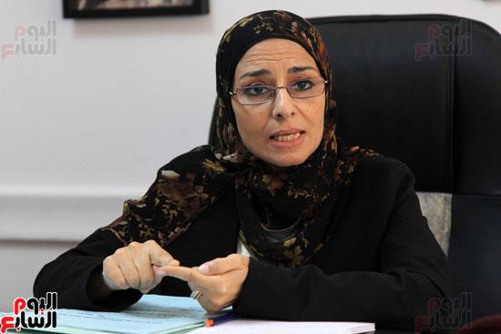 – المستشارة سوزان فهمى مساعد وزير العدل لقطاع المرأة والطفل وحقوق الإنسان (1)