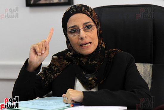 – المستشارة سوزان فهمى مساعد وزير العدل لقطاع المرأة والطفل وحقوق الإنسان (3)