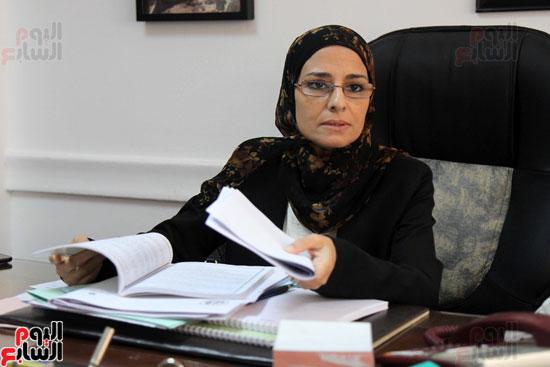 – المستشارة سوزان فهمى مساعد وزير العدل لقطاع المرأة والطفل وحقوق الإنسان (4)