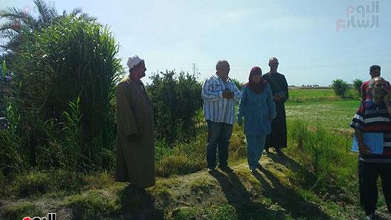 هناء الشربينى، رئيس مجلس مدينه بورفؤاد، القرى الزراعيه،سهل الطينه (1)