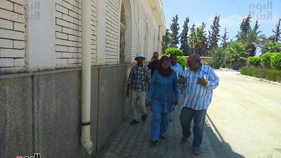 هناء الشربينى، رئيس مجلس مدينه بورفؤاد، القرى الزراعيه،سهل الطينه (3)