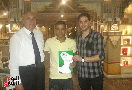 المصرى يتعاقد مع وليد حسن لاعب الإنتاج الحربى لمدة عامين فى صفقة انتقال حر (1)