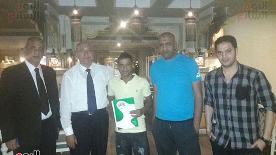 المصرى يتعاقد مع وليد حسن لاعب الإنتاج الحربى لمدة عامين فى صفقة انتقال حر (2)