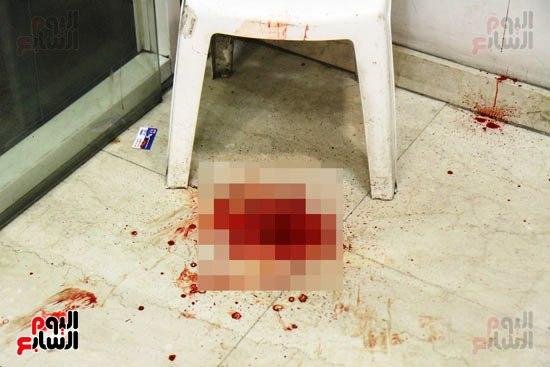 مجهولون يهاجمون حارس بنك HSBC ويستولون على سلاحه بالمهندسين (10)