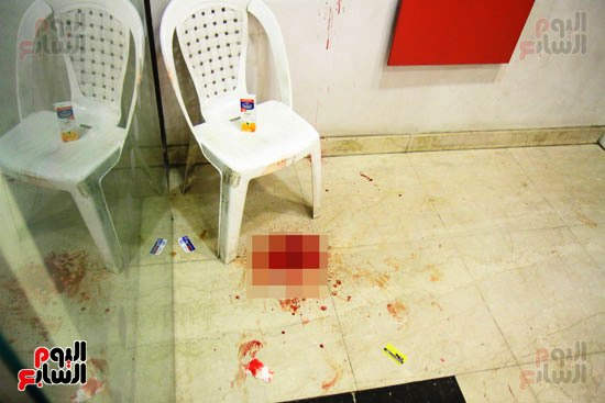 مجهولون يهاجمون حارس بنك HSBC ويستولون على سلاحه بالمهندسين (6)