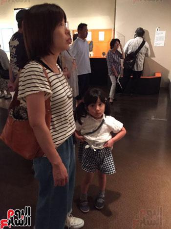معرض عصر بناة الاهرام فى اليابان (2)