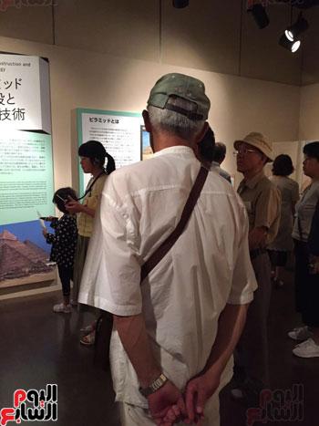 معرض عصر بناة الاهرام فى اليابان (4)