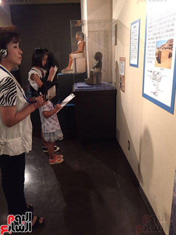 معرض عصر بناة الاهرام فى اليابان (5)