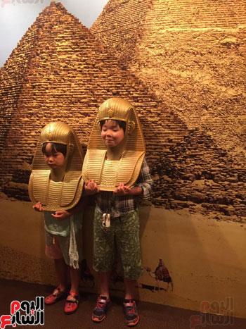 معرض عصر بناة الاهرام فى اليابان (9)