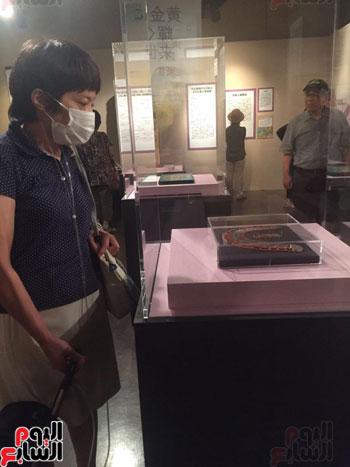 معرض عصر بناة الاهرام فى اليابان (11)