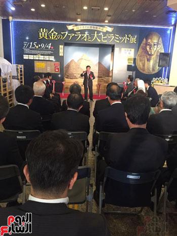 معرض عصر بناة الاهرام فى اليابان (12)