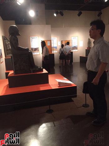 معرض عصر بناة الاهرام فى اليابان (13)