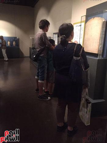 معرض عصر بناة الاهرام فى اليابان (16)