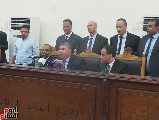 1أسلحة وذخيرة وعلامة رابعة ضمن أحراز المتهمين بـاغتيال النائب العام (6)