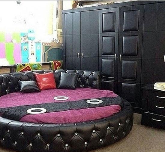 بالصور.. غرف النوم الدائرية تعود لموضة الديكور والأثاث من جديد
