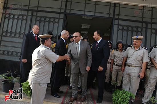 عيد الفطر المبارك، المنوفية،تهنئة افراد قوات الامن، محافظ المنوفية يزور قوات الامن (4)