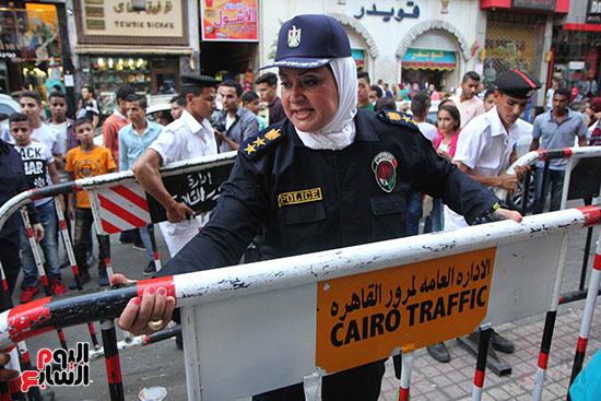تأمين الشرطة النسائية  (18)