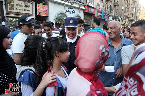 تأمين الشرطة النسائية  (21)