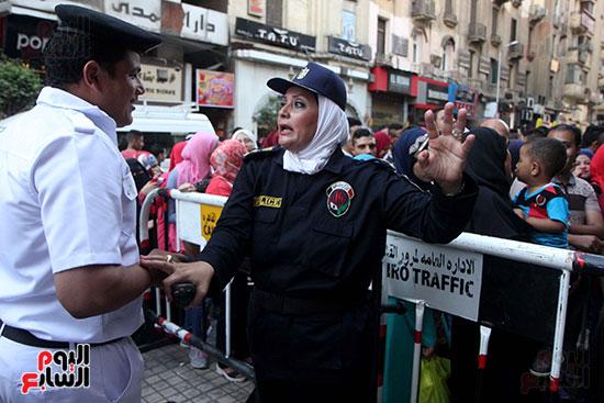 تأمين الشرطة النسائية  (23)