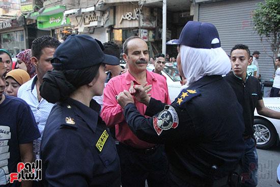 تأمين الشرطة النسائية  (9)