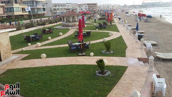 محافظة الاسكندرية تعلن الانتهاء من تطوير شاطئ المعمورة المميز (1)