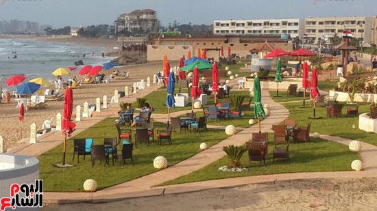 محافظة الاسكندرية تعلن الانتهاء من تطوير شاطئ المعمورة المميز (2)