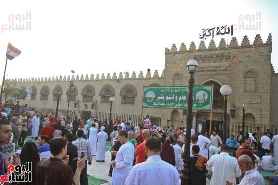 صلاة العيد جامع عمرو بن العاص (1)