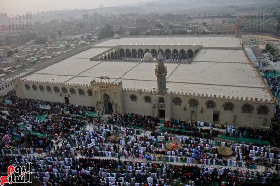 صلاة العيد جامع عمرو بن العاص (10)