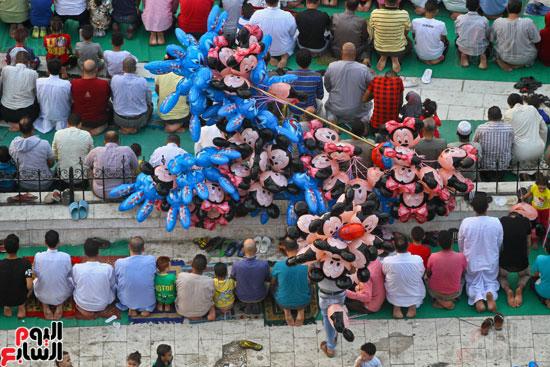 صلاة العيد جامع عمرو بن العاص (13)