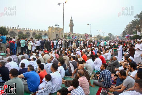 صلاة العيد جامع عمرو بن العاص (5)