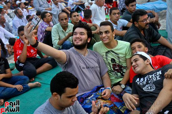 صلاة العيد جامع عمرو بن العاص (8)
