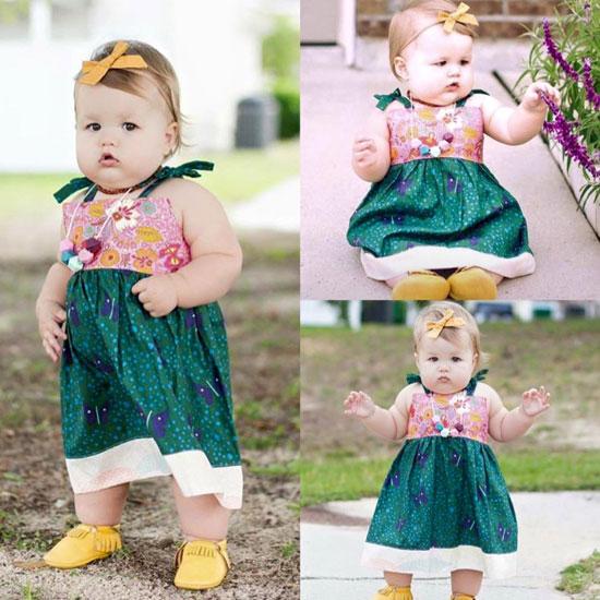 a9bddbd8dd501 أفكار ملابس أطفال لبنتك من صور