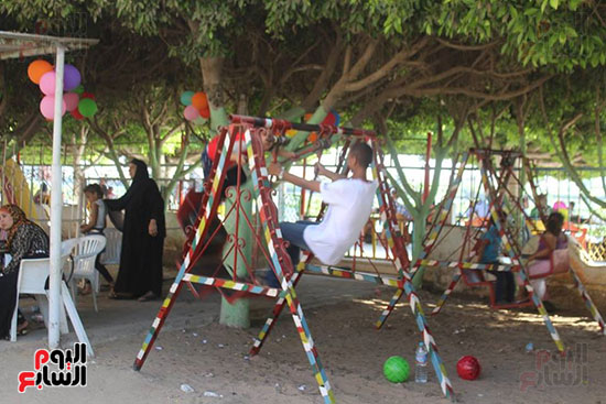 عيد الفطر، كفر الشيخ، مطوبس، دسوق، الحدائق والمتنزهات، الميدان الابراهيمى، حديقة صنعاء (6)