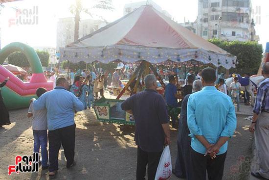 عيد الفطر، كفر الشيخ، مطوبس، دسوق، الحدائق والمتنزهات، الميدان الابراهيمى، حديقة صنعاء (7)