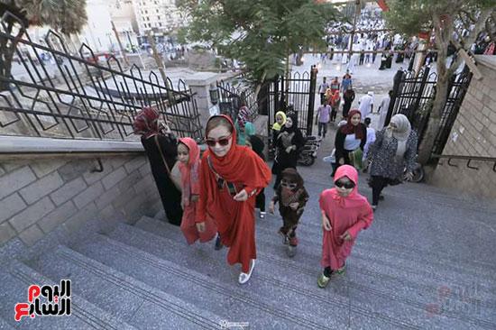 الاقصر، عيد الفطر المبارك، احتفالات المواطنين بالعيد، الملاهي بالاقصر (1)